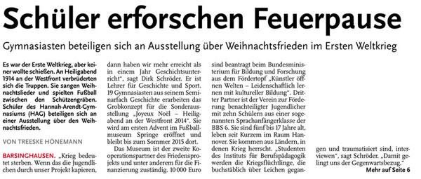 Sonder-schueler-erforschen-1914-fussballmuseum-springe