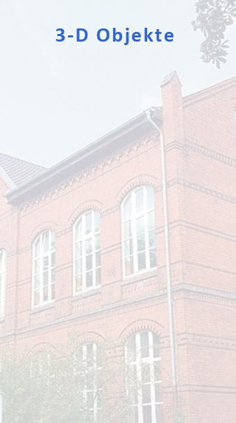 Rote-schule-3-D-objekte